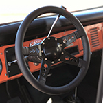 Steering Wheel Mark 9 GT Black 4 Spoke 14 Inch