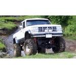 Bushwacker Front Cutout Fender Flares 89-90 Ford Bronco II