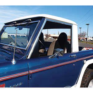 Buy One Piece Door Window Kit Early Ford Bronco Parts