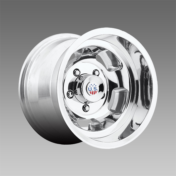 US Mags Indy 15x8 1-Piece Cast Polished