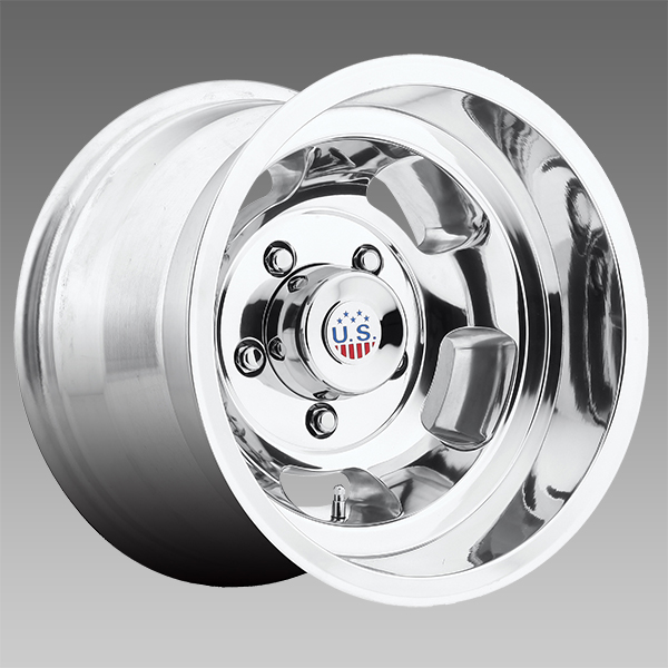 US Mags Indy Wheel U101 1-Piece Cast Polished 17x9 - FREE ...