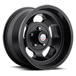 US Mags Indy 15x8 Wheel Vintage 1-Piece Cast Matte Black
