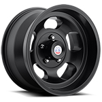 US Mags Indy 17x9 Wheel Vintage 1-Piece Cast Matte Black
