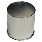 4.25 Open Chrome Center Cap For Front Wheels
