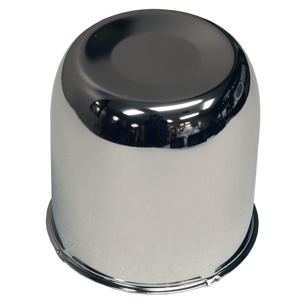 4.25 Closed  Chrome Center Cap For Rear Wheels