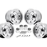 US Mags Indy 17x9 1-Piece Cast Polished Kit