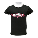 WH Ladies T-Shirt Hot Pink Logos