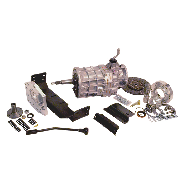 AX15 Kit with Brand New Transmission For 66-72 Bronco T-Shift Dana 20