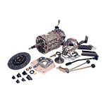 AX15 Kit with Brand New Transmission and Twin Stick For 73-77 Bronco J-Shift Dana 20