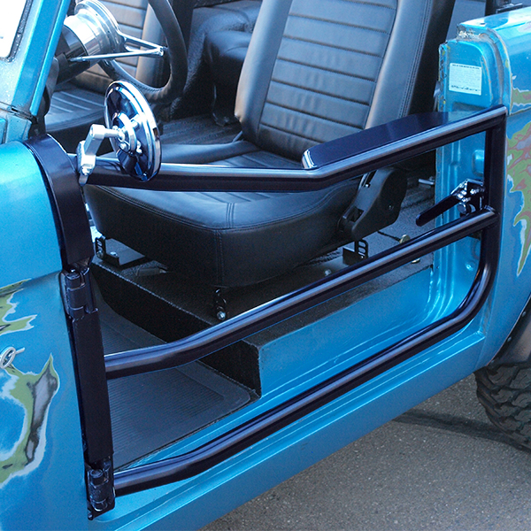 Body Guard Deluxe Latching Tube Doors For Early Bronco