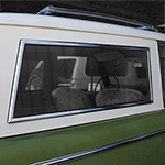 Quarter Window Chrome Molding Passenger Side