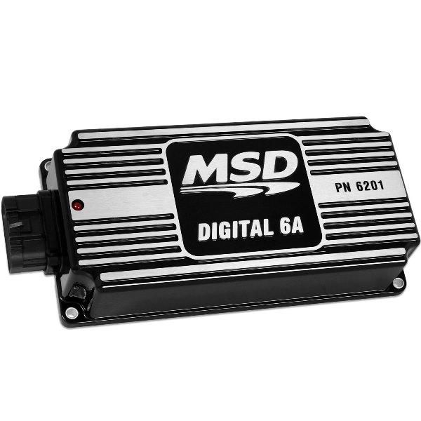 MSD 62013 Digital 6A Ignition Black