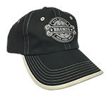 WH Black BRONCO Hat