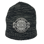 WH BRONCO Beanie Black/Charcoal
