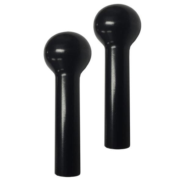 Billet Door Lock Knob BLACK (pair)