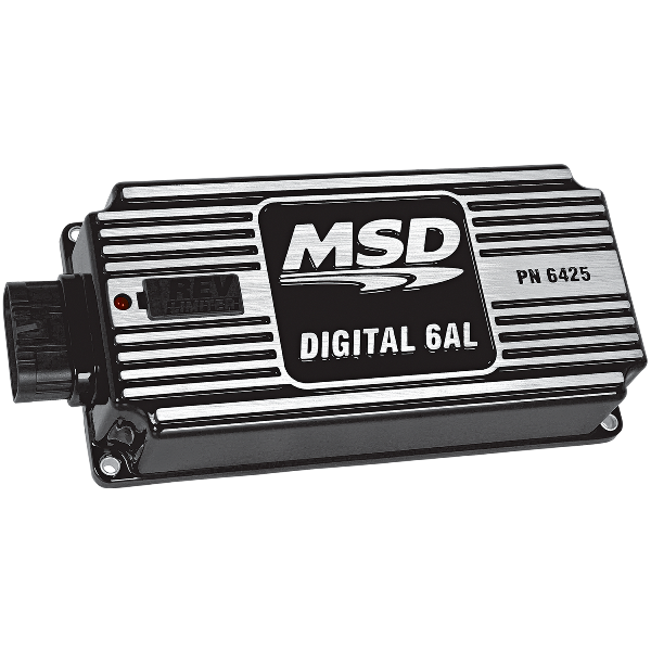 MSD 64253 Digital 6AL Ignition BLACK