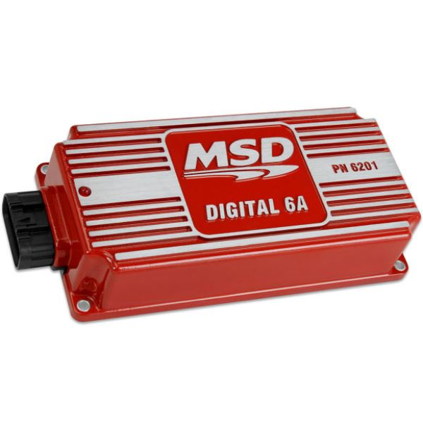 MSD 6201 Digital 6A Ignition RED