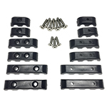 Spark Plug Wire Separators - Black