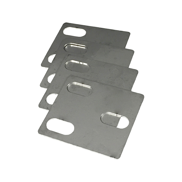 Deluxe Door Hinge Shim Kit Stainless (Does 4 Hinges)