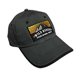 WH Sunrise Mountain Charcoal BRONCO Hat