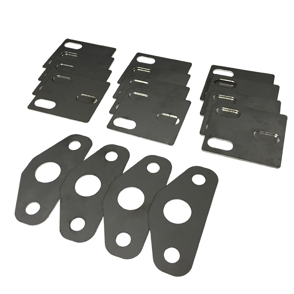 Deluxe Door Hinge And Striker Shim Kit Stainless Does 4