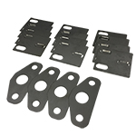 Deluxe Door Hinge and Striker Shim Kit Stainless (Does 4 Hinges and 2 Strikers)