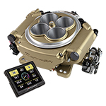 Holley Sniper EFI Self-Tuning Kit - Classic Gold Finish