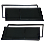 Rear Sliding Windows Kit Includes New Window Seals