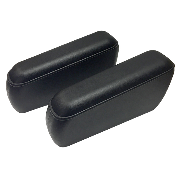 Rear Seat  Armrest Pair Black, 68-77