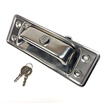 Locking Tailgate Release Handle Stainless Steel