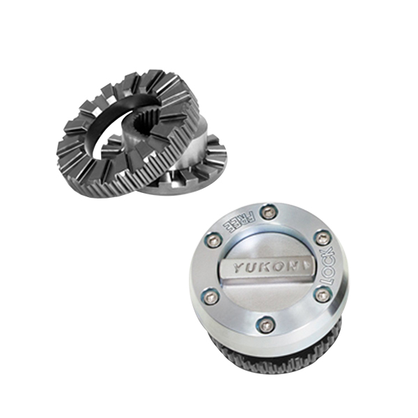 Yukon Hardcore Locking Hub Set for use with Dana 30/44 19spl 66-92 Bronco 73-93 F150