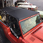 Family Cage Roll Bar Top for use with STC,Kayline, Rampage Riser - Black