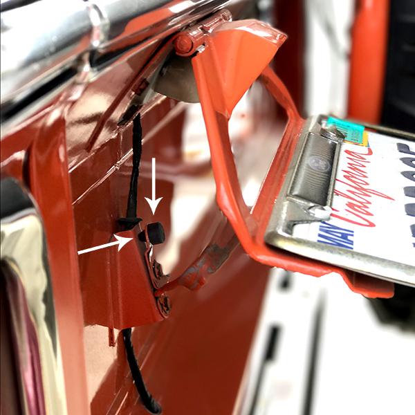 License Plate Frame Bumper
