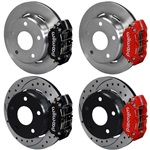 "Wilwood Dynapro 15"" Rear Disc Brake 66-75 Sm Bearing Bronco"