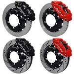 "Wilwood Superlite 17"" Front Brake Kit for 66-75 Bronco"
