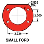 Small Ford Bronco Flange