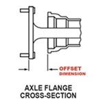 Axle Flange Cross-Section
