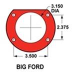 Big Ford Bronco Flange