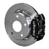66-75 Lg Bear Bronco w/11x1 3/4 drums 15in Wheels Black