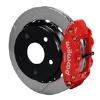 66-75 Lg Bear Bronco w/11x1 3/4 drums 17in Wheels Red