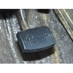 Clutch or Brake Pedal Pad Bronco Script with M/T