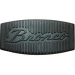 Power Brake 76-77 Pedal Pad Bronco Script with A/T