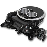Holley Sniper EFI 2300  TBI Two Barrel Black Ceramic Finish