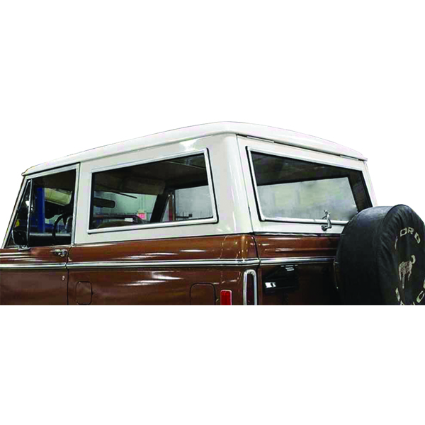 Complete Hard Top Chrome Window Molding Kit