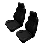 WH Seats Full Reclining Set Black Vinyl