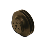 Black Hard Core Billet Water Pump Pulley 5.75 OD