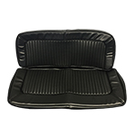 Rear Seat Upholstery Cover Black