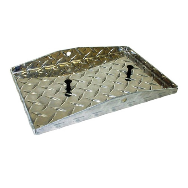 Diamond Plate Battery Tray