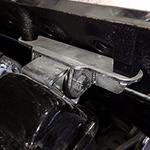 Extreme Motor Mounts  V8 Corrosion Resistance Zinc Plating 66-77 Ford Bronco