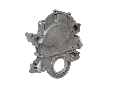 Timing Chain Cover Aluminum 66-77 Bronco 289/302/351W for standard rotation water pump